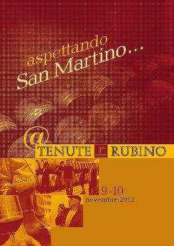 ASPETTANDO SAN MARTINO...@TENUTE RUBINO
