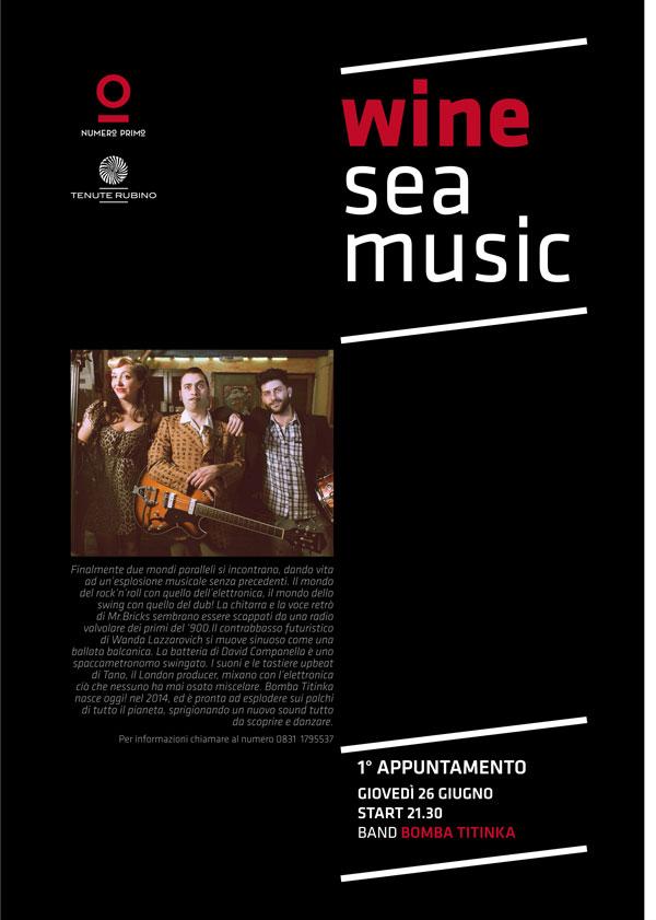 WINE SEA MUSIC BY NUMERO PRIMO