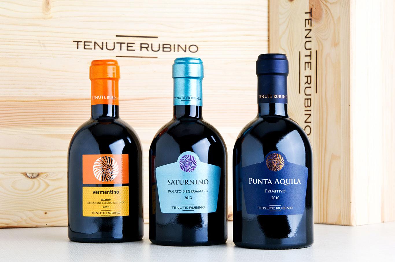 TENUTE RUBINO LANCIA I FORMATI DA 375 ML