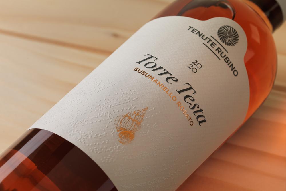 Torre Testa Rosato | Tenute Rubino | Vini del Salento