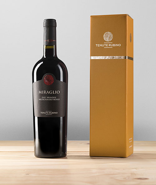 Miraglio in confezione Prestige | Tenute Rubino | Vini del Salento