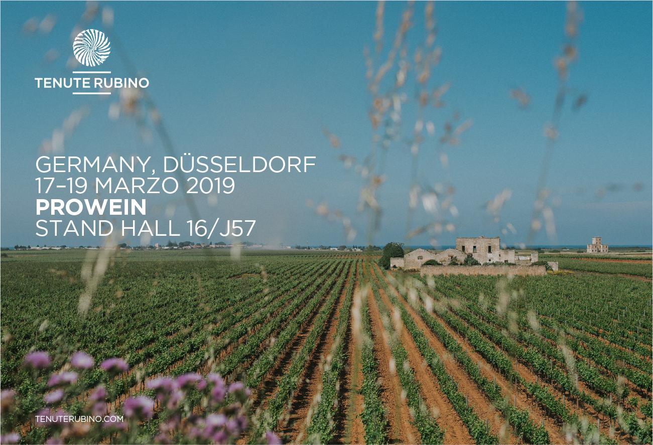 Pro Wein 2019 - Tenute Rubino | I Vini del Salento