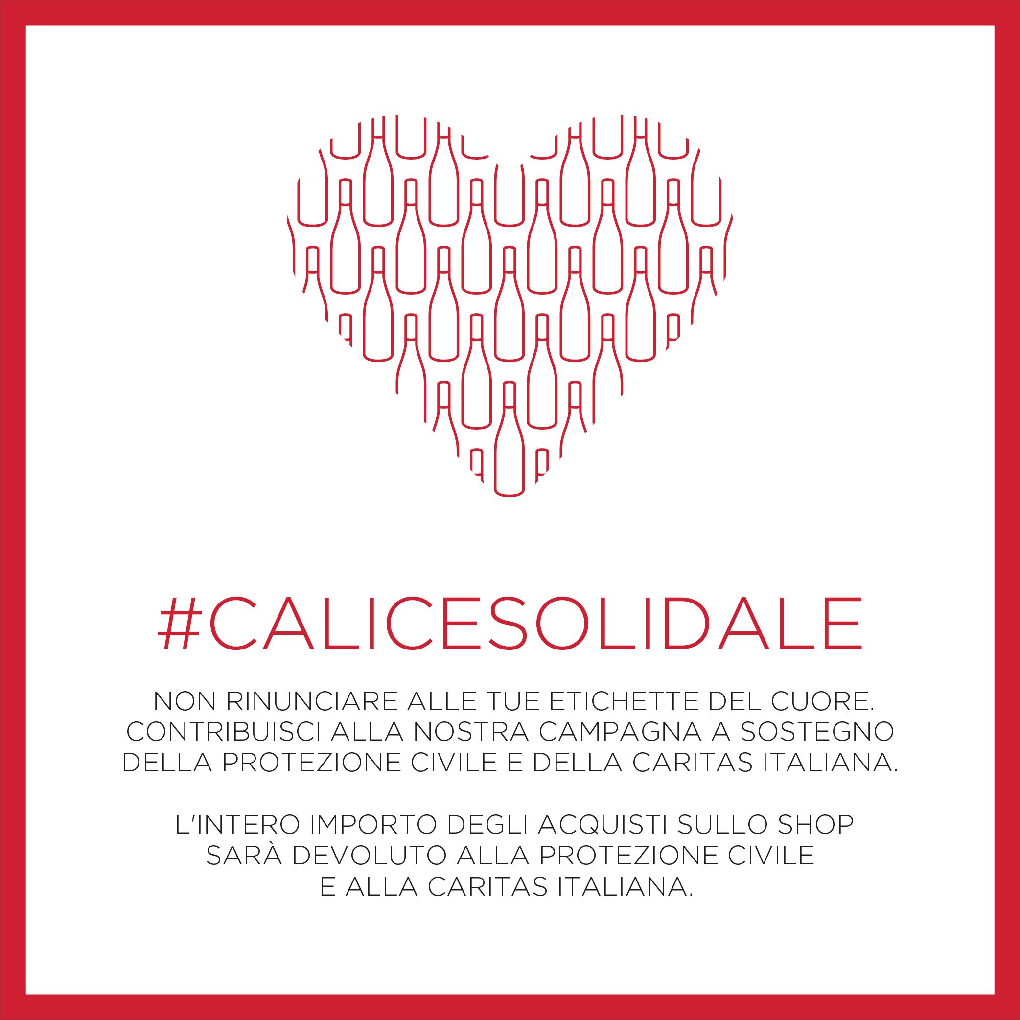 Calice Solidale - Tenute Rubino | I Vini della Puglia