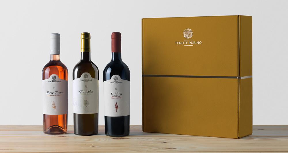 Confezione Prestige da 3 bottiglie | Tenute Rubino | Vini del Salento