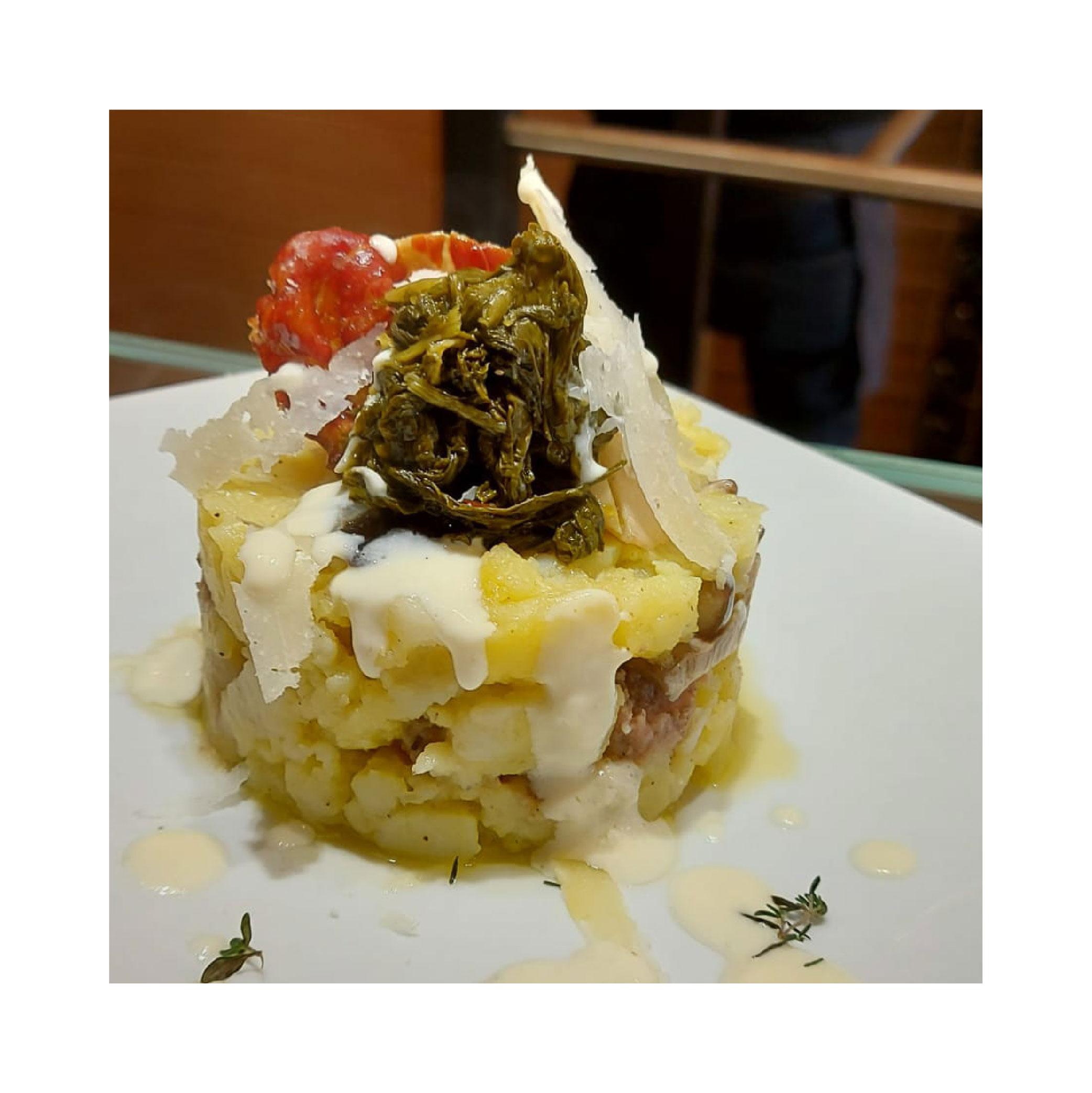 tortino menù di san valentino - vinoteca numero primo