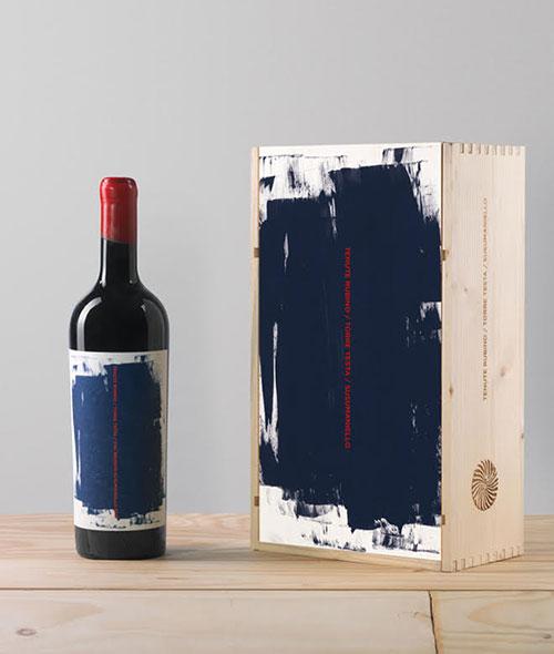 Torre Testa con cassetta in legno | Tenute Rubino | Vini del Salento